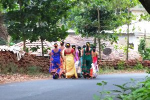 Goan Hindu Ladies in Festive Attire