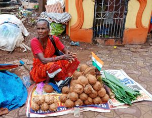 Selling Coconuts & Oil for Curry
