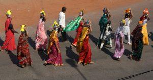 A Hindu Festival Procession