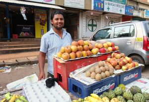 Fruit Vendor in Goa
