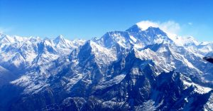 Travelling over Himalayas