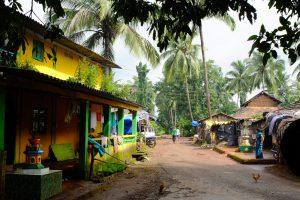A Village, Start Point of Trek