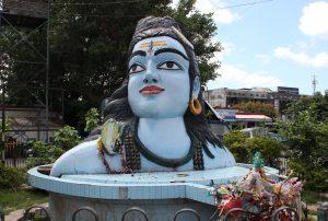 Lord Shiva Statue at Haridwar Station