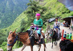 Local Ladies on Pony Ride