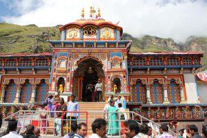 Sacred Badrinath Temple