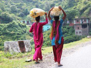 Hardworking Village Girls