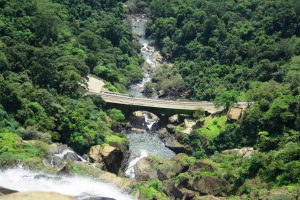 View of Dudhsagar Waterafalls from Top