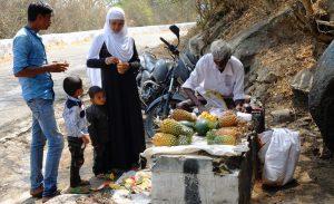 Mysore Vendor Selling Coconut Water