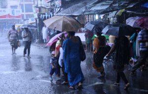 A Rainy Day in Kolkata