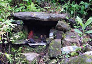 Hindu Deity on the Way to Hill