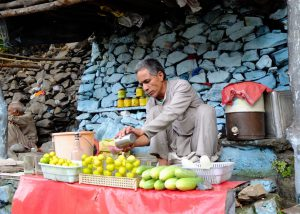 Juice Seller in the Himalayan State of Uttarakhand