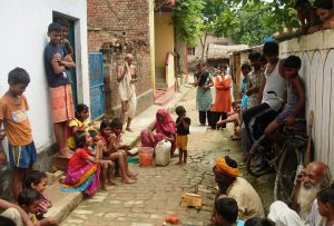 Magic Show in a Village