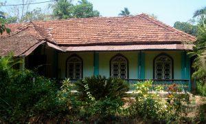 Old House on Roadside in South Goa