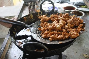 Typical Snack called Pakoda